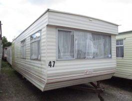 Static Caravan Kingsize Bed