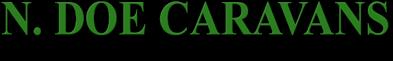 N. Doe Caravans Logo