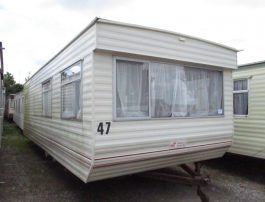 Static Caravan Kingsize Bed