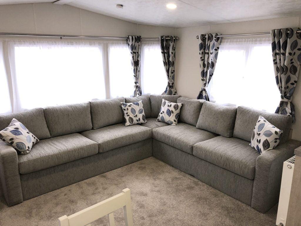 static lounge area