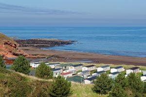 holiday park on the coast