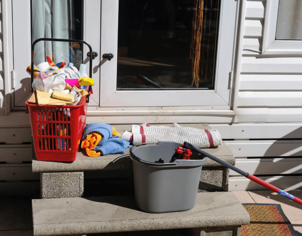 caravan cleaning supplies