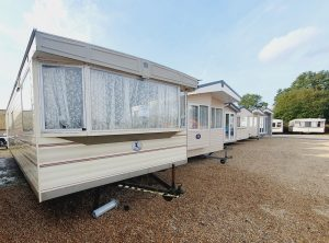 selling a static caravan at a showground