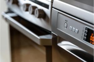 kitchen appliances close up